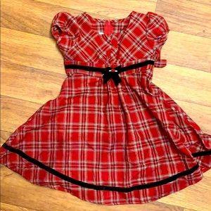 Bonnie Jean children's holiday dress